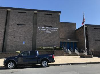 William Pinderhughes Elementary/Middle School, 701 Gold Street, Baltimore, MD 21217