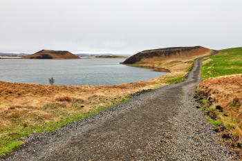 Winding Crater Trail - Skutustadagigar