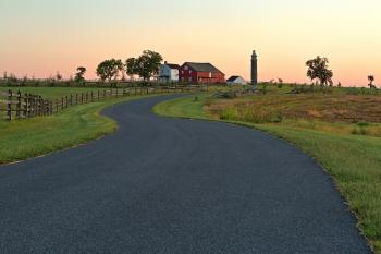 Winding Dawn Road - HDR