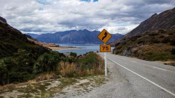 Winding Road Signage