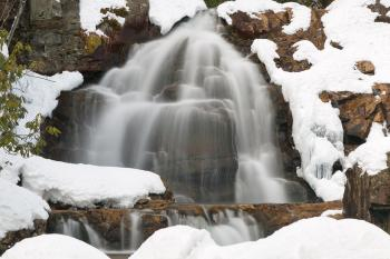 Winter Hawk Falls - HDR