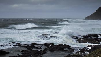 Winter storm Cape Perpetua, Oregon