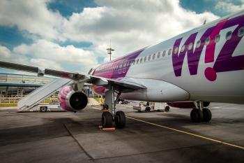 Wizzair Airbus A320 at Beauvais-Tille airport