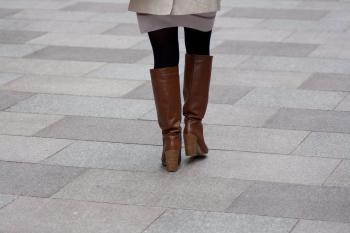 Woman in boots