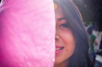 Woman Smiling at Daytime