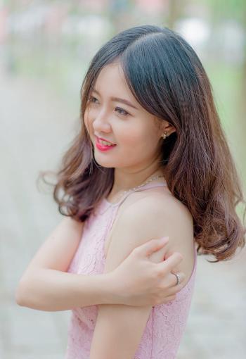 Woman Wearing Pink Tank Top