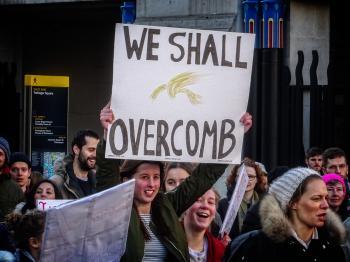 Women's March London - 09