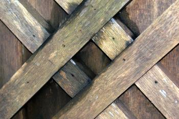 Wood crosshatch