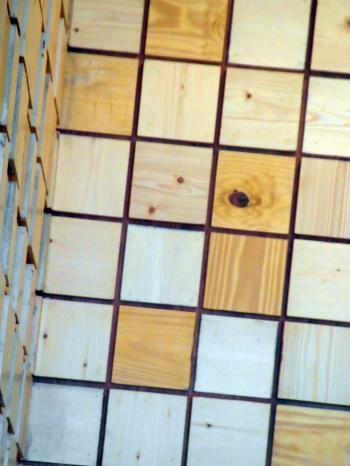 Wood Grid Texture