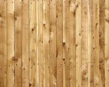 Wooden fence closeup