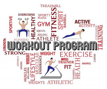 Workout Program Means Get Fit And Athletic
