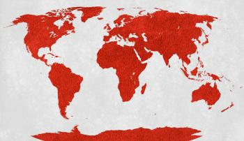 World Map - Red Velvet