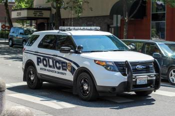 WWU Police Ford Police Utility