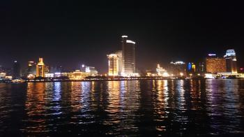 Xiamen island at night