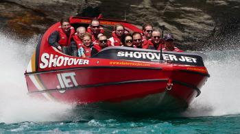 Ya gota do this ! Shotover Jet. Queenstown NZ