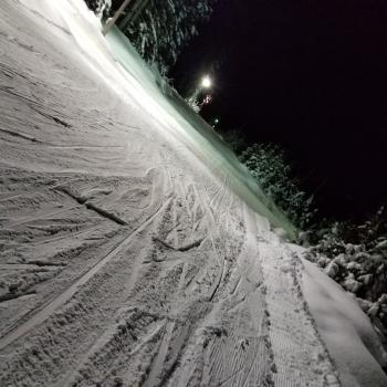 Yay lower powerline was perfect for skate and classic cross-country skiing @cypressmtn last night #endlessWinter #lucky 20171220_210203