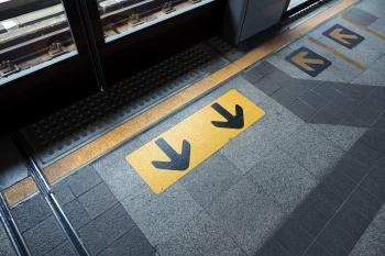 Yellow Arrow Symbol