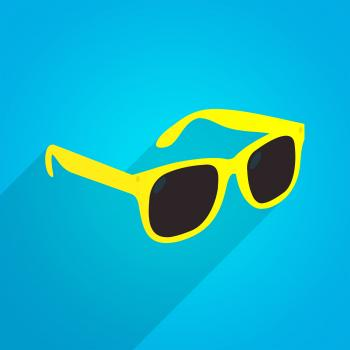 Yellow Fun Sunglasses