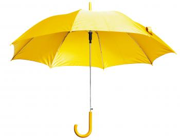 Yellow Open Umbrella