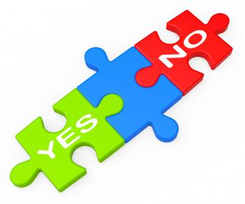 Yes No Shows Uncertainty And Decisions
