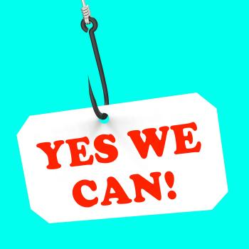 Yes We Can! On Hook Shows Teamwork And Optimism