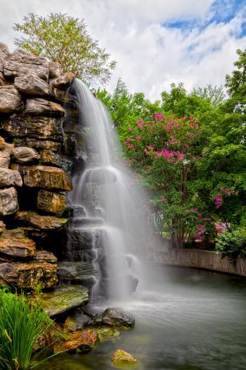 Zoo Waterfall - HDR