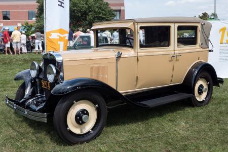 1929 Chevrolet 4-door Landau Convertible