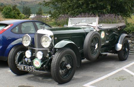 1930 Bentley Speed SIX.