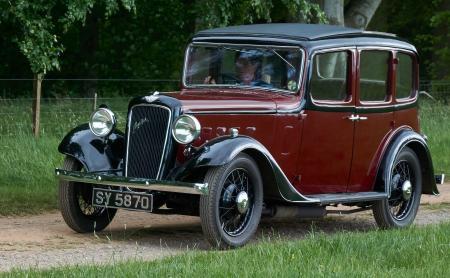 1934 Austin Ascot 12/4 Saloon