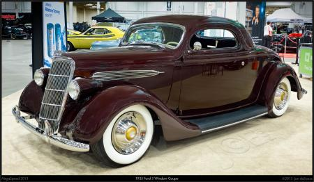 1935 Ford 3 Window
