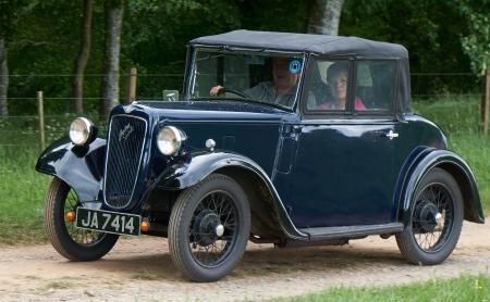 1936 Austin 7 Opal