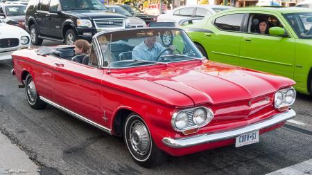 1963 Corvair Monza Convertible