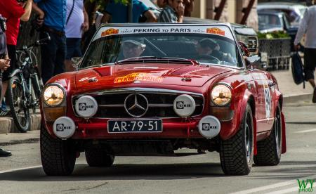 1966 Mercedes 230 SL - Mick de Haas & Anthony Verloop