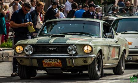 1968 Ford Mustang Fastback - Peter Weigelt & Beat Hirs