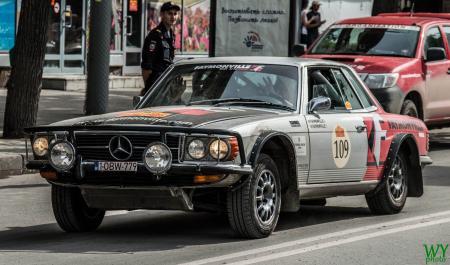1973 Mercedes 450 SLC - Alain Faymonville & Yves Faymonville