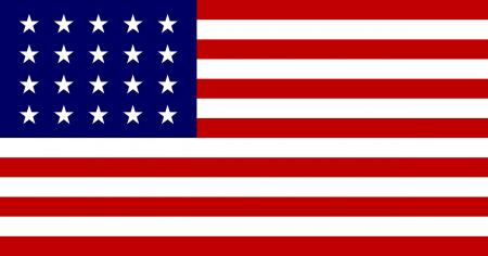 20 Star United States flag