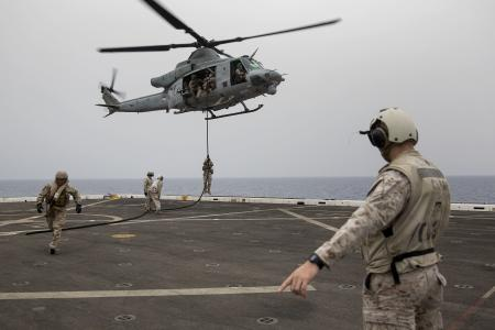 24th Marine Expeditionary Unit Landing Training
