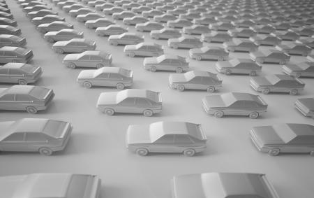 3D Rendered Cars