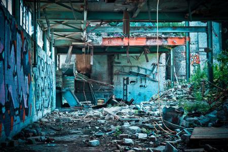 Abandon Concrete Building during Daytime