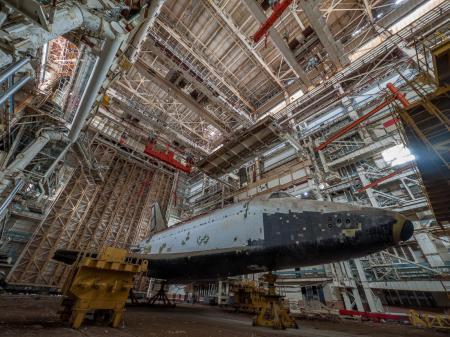 Shuttle in Kazakhstan