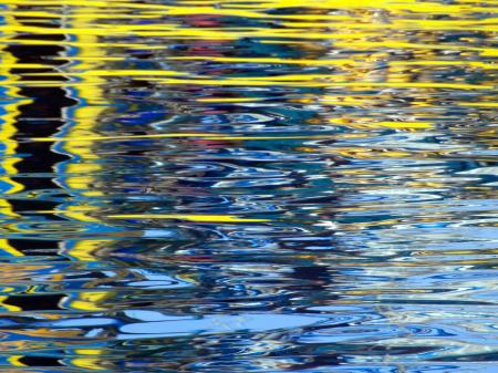 Abstract Water Ripples