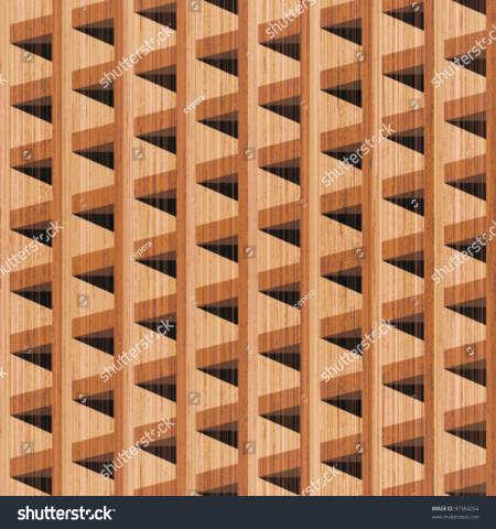 Abstract Wooden Blocks