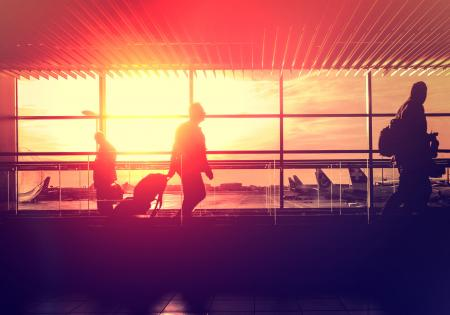 Airport Lounge - Arrivals and Departures - Travel and Leisure