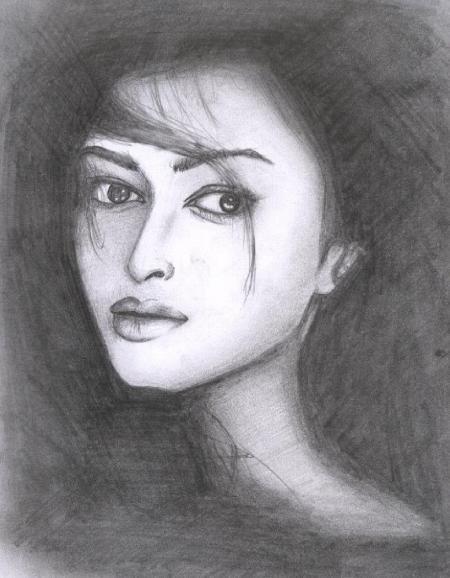 Aishwarya Rai Sketch