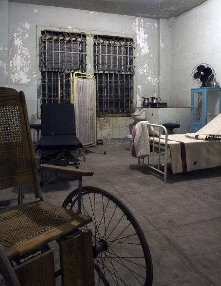 Alcatraz infirmary