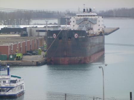 Algoma Progress, moored in Toronto, 2014 04 18 (2)