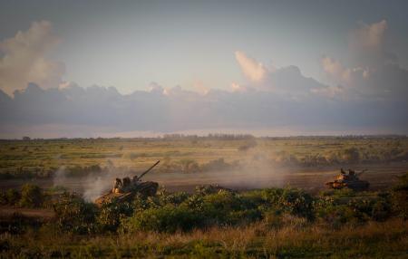 AMISOM & Somali National Army operation to capture Afgoye Corridor Day #3 19