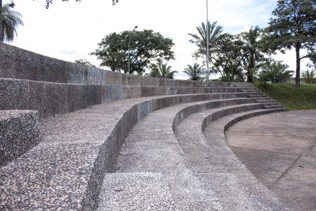 Amphitheater Seats up Close