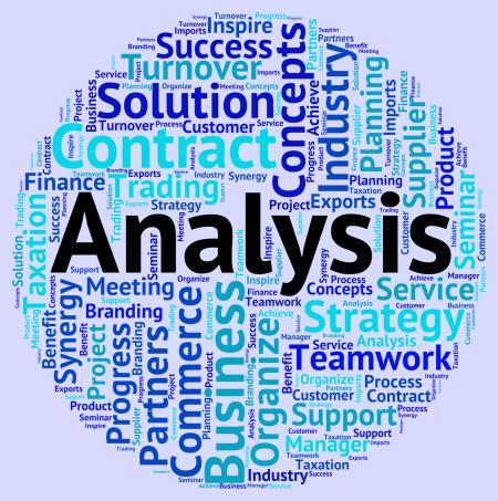 Analysis Word Shows Data Analytics And Words