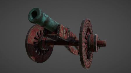 Ancient Bronze Cannon